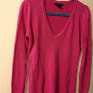 New York and company pink sweater, med.